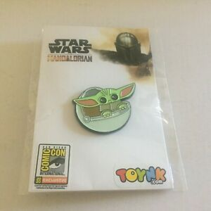 NEW San Diego Comic Con at Home Exclusive Mandalorian The Child Pin