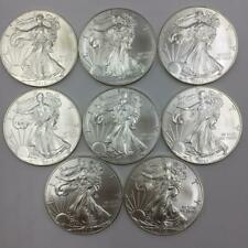 (8) 2012 AMERICAN SILVER EAGLE WALKING LIBERTY 1 OZ FINE SILVER DOLLAR COINS