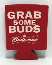 Grab Some Buds Budweiser Beer Can Koozie - Keep those Beers Cold & Refreshing