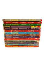 Goosebumps Books~Lot of 16 Books~R.L.Stine~Kids Horror~Scary Stories