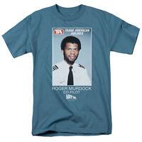 Airplane Roger Murdock T-Shirt Sizes S-3X NEW