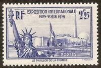 N°426 Exposition 1939 neuf sans trace de charnière,superbe,cote 20€