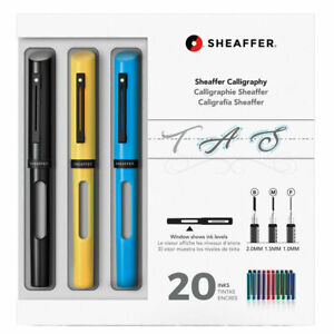 Sheaffer Maxi Kit Calligraphy Fountain Pens with Assorted Nibs and Inks 93404-2