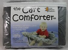 """The Cart Comforter, Shopping Cart Cover, Little Peanut Products, 41""""x45"""", Brown"""
