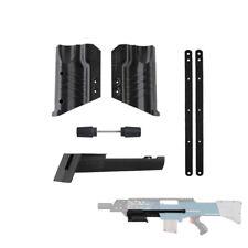 Worker Mod F10555 Pump Kit Grip 3D Printed NO.191 for Nerf LongShot CS-12 Toy