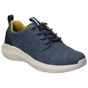 Skechers Parson, Scarpe Casual basse da uomo, navy with memory foam, 66005 blu