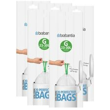 40 Stück G 10x Brabantia Müllbeutel Spenderverpackung 30 l