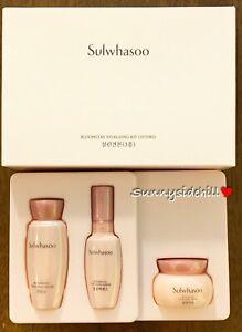 Sulwhasoo Bloomstay Vitalizing Kit 3 items Water+Serum+Cream Sale!!! US Seller