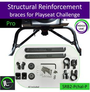 Playseat Challenge Wheel Plate Structural Reinforcement braces. Pro. OP