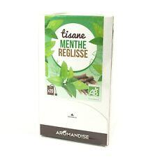 Aromandise Tisane Menthe Réglisse bio en 20 sachets