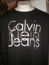NWT CALVIN KLEIN JEANS BLACK S/S T-SHIRT SZ:XLT