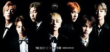 New THE BEST OF BTS Bangtan Boys Korea Edition First Limited Edition CD DVD