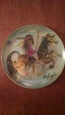 """"""" Merry Little Indian""""  De Grazia Collector Plate"""