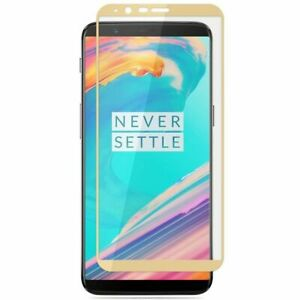 For OnePlus 6 6T 5 5T 3 3T Full Coverage 3D Tempered Glass LCD Screen Protector