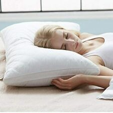 Bed Pillows For Hotel Sleep Support Neck Pain Relief Soft Plush Fiber Fill New