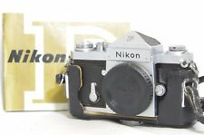 Nikon F 35mm SLR Film Camera Eye-Level Silver Body Only SN7056284 from Japan