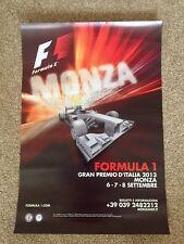 Fórmula 1 italiano Grand Prix 2013 oficial evento Poster-Juan Monza