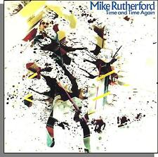 """Mike Rutherford - Time and Time Again + Overnight Job - UK 7"""" 45 RPM Single!"""