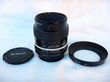 Nikkor 55mm f2.8 AI-S MICRO Lens + LENS HOOD HN-1 Paraluce Excellent CONDITION