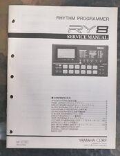 Yamaha Rhythm Programmer Ry8 Service Manual