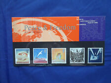 Royal Mail Mint Stamps  PEACE & FREEDOM - UNITED NATIONS-THE BRITISH RED CROSS