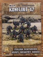 Bolt Action Konflikt '47 Italian Centurion Heavy Infantry Squad