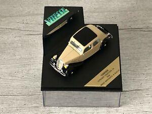 VITESSE V98068 Citroën Traction 7A Beige & Noir 1934 1/43