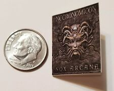 "Miniature dollhouse Halloween book  1/12 Scale   1"" Necronomicron Demon Face"