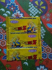 dragon ball gt chicle chiclets dragonball bola deSTICKERS  BUBBLE GUM CHICLES