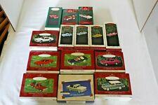Classic American Car & All-American Truck Series Hallmark Keepsake Ornaments Lot