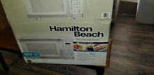 Hamilton Beach P100N30Al-Wbw 1.1cu.ft Digital Microwave Oven - White