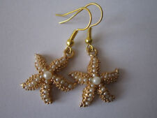 Holiday Pearl Drop/Dangle Costume Earrings