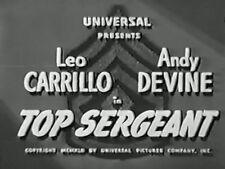 TOP SERGEANT (1942) DVD LEO CARRILLO, ANDY DEVINE