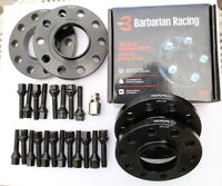 BMW E90/E91/E92 Hubcentric Wheel Spacers 15mm Front + 20mm Rear, Car Set