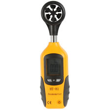 LCD Anemometer Wind Speed Gauge Air Flow Speed Meter and Temperature Thermometer