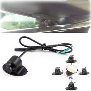 Adjustable Angle Car Truck Blind Spot Side View Camera Backup Parking Kit IP67