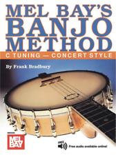 Banjo Method: C Tuning - Concert Style <MB93238> Mel Bay