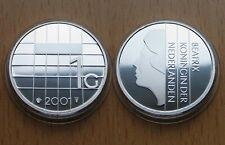 NETHERLANDS, Niederlande : 1 Gulden 2001 *** SILBER *** Proof ***