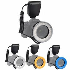 RF-550E Macro 48 pcs LED Ring Flash bounce Light for SONY Camera Hot Shoe