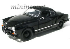 GREENLIGHT 12833 BLACK BANDIT 1966 VW VOLKSWAGEN KARMANN GHIA 1/18 BLACK
