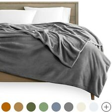 Microplush Velvet Fleece Blanket - Premium Ultra Soft - Easy Care - Warm & Cozy