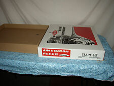 AMERICAN FLYER REPRODUCTION 20520 BANKER SET BOX & INSERTS ONLY NO TRAINS