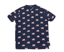 Polo Ralph Lauren Men's Anerican Flag All Over Print Polo Shirt Size XL