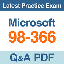 Microsoft Networking Fundamentals Practice Test 98-366 Exam Q&A PDF