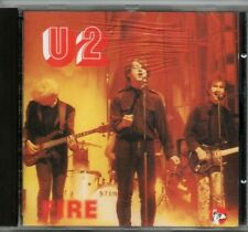 "U2 - ""FIRE LIVE IN BOSTON 3/6/81"" (RARE 1991 LIVE ITALIAN IMPORT CD) BONO , EDGE"