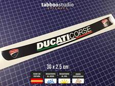 Pegatina Ducati Corse visera casco moto racing sport decals sticker visor