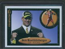 2004 BEN ROETHLISBERGER ROOKIE RC PROSPECTS INK blue BACKGROUND SP