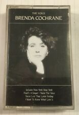 """Brenda Cochrane """"The Voice"""" Tape Cassette - Never Been Played"""