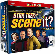 SCENE It? Deluxe Star Trek Edition - The DVD Board Game~New & Factory Sealed!