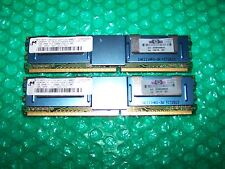 2GB HP (micron) PC2-5300F 667 Mhz ddr2 CL5 Fully Buffered memoria (FBDIMM)
